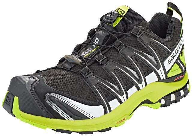 Salomon XA Pro 3D GTX Trailrunning Shoes Men, blacklime greenwhite